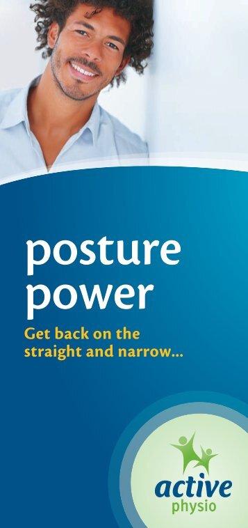 Posture Power (PDF)