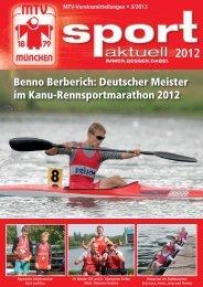 Deutscher Meister im Kanu-Rennsportmarathon 2012 - MTV München