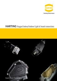 HARTING Rugged Indoor/Outdoor Light & Sound ... - HARTING USA