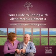 Your Guide to Coping with Alzheimer's & Dementia - Home Instead ...