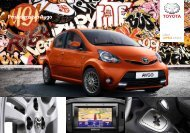Katalog príslušenstva Aygo - Toyota