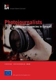 Freelance Journalists in European Media - Europe - International ...