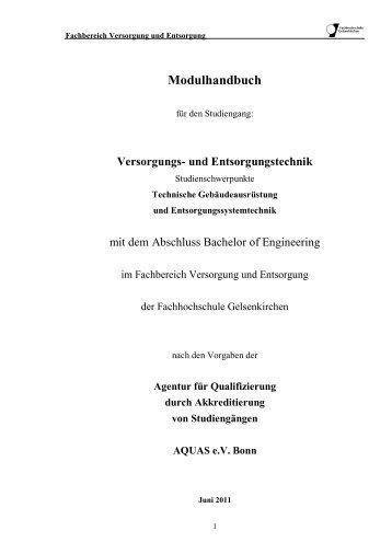 Modulhandbuch - Mein duales Studium