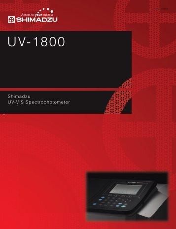 UV-1800 - Bergman-net