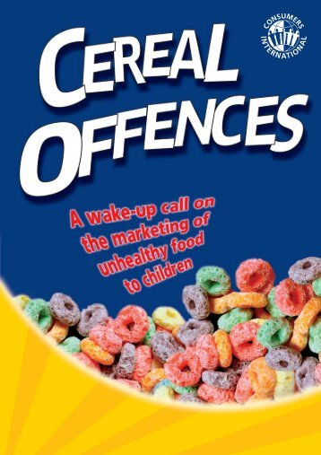 Cereal Offences - Consumers International