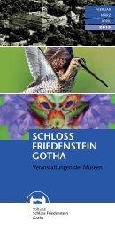 Veranstaltungen der Museen - Schloss Friedenstein