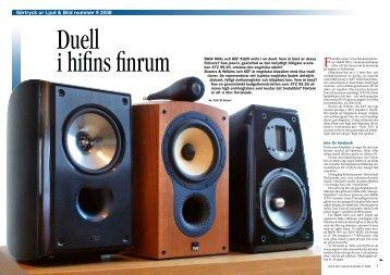Särtryck ur Ljud & Bild nummer 9 2008 T E S T - Dans TV & HiFi ...