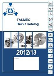 TALMEC Bakke katalog 2012/13 - ToolSpann