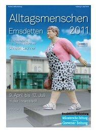 Alltagsmenschen Emsdetten 2011 9. April bis 12. Juli