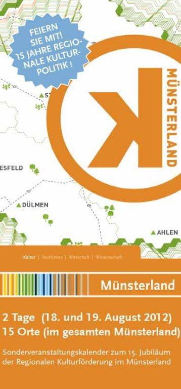 Sept. – Okt. 2013 - Kulturbüro Münsterland