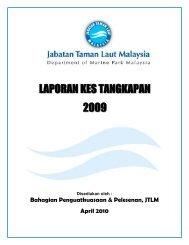 Laporan Kes Tangkapan Tahun 2009 - Jabatan Taman Laut Malaysia