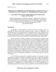 Lasso Gómez Tomas - Centro Universitario de Ciencias Biológicas y ...