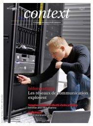 Context N° 4 2013 - Informatique (PDF, 1911 kb) - Sec Suisse