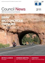 Council News 2/11 - BMW Auto Klub Srbija