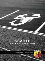 ABARTH - Fiat