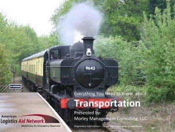 Transportation - American Logistics Aid Network