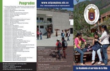 Posgrados - Universidad de Pamplona