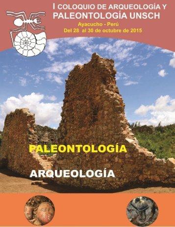 Coloquio de Arqueología y Paleontología Unsch