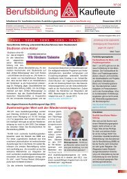 Berufsbildung Kaufleute 04/2012 PDF - bei WAP! - IG Metall