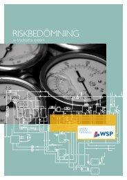 Riskbedömning av trycksatta system - WSP Group