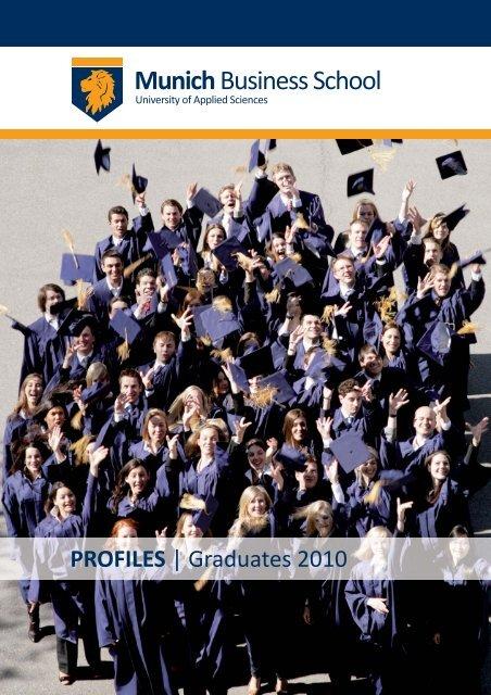 Graduate Profiles 2010 - Munich Business School