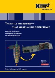The little whirlwind - Hengst GmbH & Co. KG