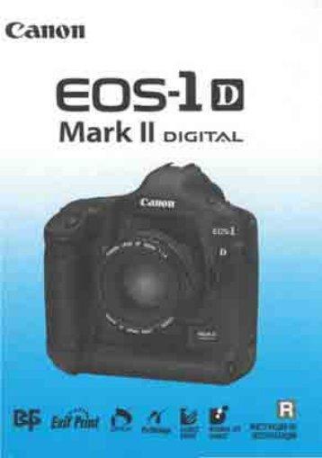 EOS-1D Mark II - Photosol.RU - чистка оптики и матриц