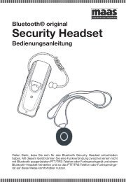 Security Headset - Maas
