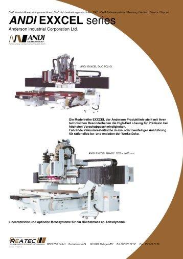 ANDI EXXCEL series - DREATEC GmbH