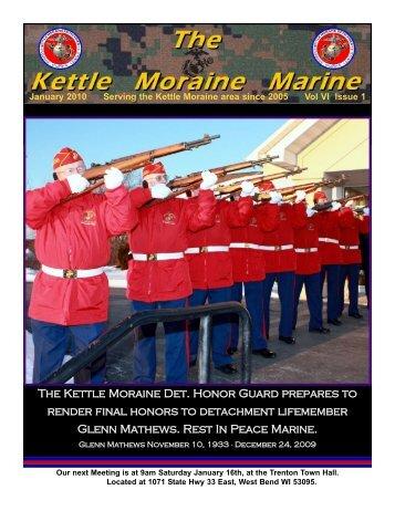 Jan 10 Newsletter - Kettle Moraine Detachment