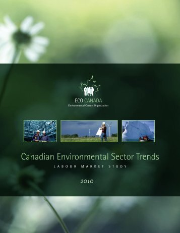 Canadian Environmental Sector Trends - BC's Green Economy