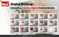Blick.ch Display Werbung - Go4media