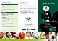 Der Paradies- Kompass 2009 - Weingut GROSZ, Wein Südburgenland