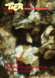 Heft 3 / 2013 - Tierschutz: Pro Tier