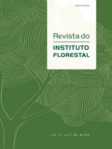 R evista do Instituto Florestal v. 22 n. 2 dez. 20 10
