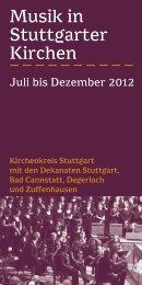 Programm herunterladen - Musik in Stuttgarter Kirchen