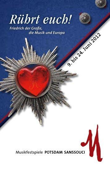 Juni - Musikfestspiele Potsdam Sanssouci