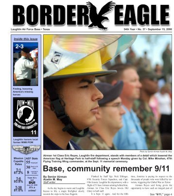 Base, community remember 9/11 - Laughlin Air Force Base