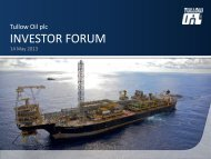 Download 2013 Ghana Investor Forum PDF (1.2 MB) - Tullow Oil plc