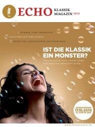 KLASSIK MAGAZIN - Bundesverband Musikindustrie