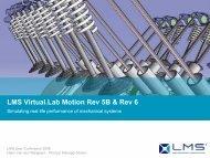 LMS Virtual.Lab Motion Rev 5B & Rev 6