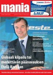 Globaali kilpailutoi merkittävän päänavauksen Etelä ... - Manialehti.fi