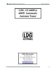 LDG At-600pro 600W Automatic Antenna Tuner - Maas