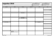 Microsoft Office Outlook - Stijl voor maandelijks