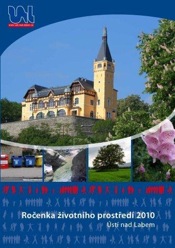 Ročenka životního prostředí 2010 - Statutární město Ústí nad Labem