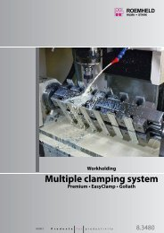 Multiple clamping system