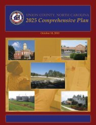 2025 Comprehensive Plan - Union County