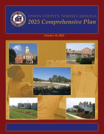 2025 Comprehensive Plan - Union County