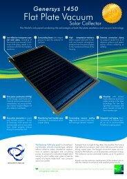 1450 Solar Panel Datasheet - Genersys