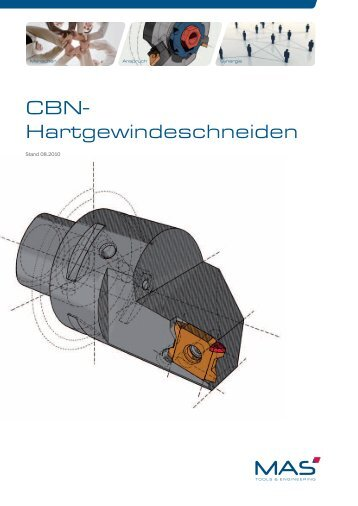 CBN- Hartgewindeschneiden - MAS Tools & Engineering